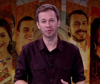 Tiago Leifert. Foto: Reprodução/Globo
