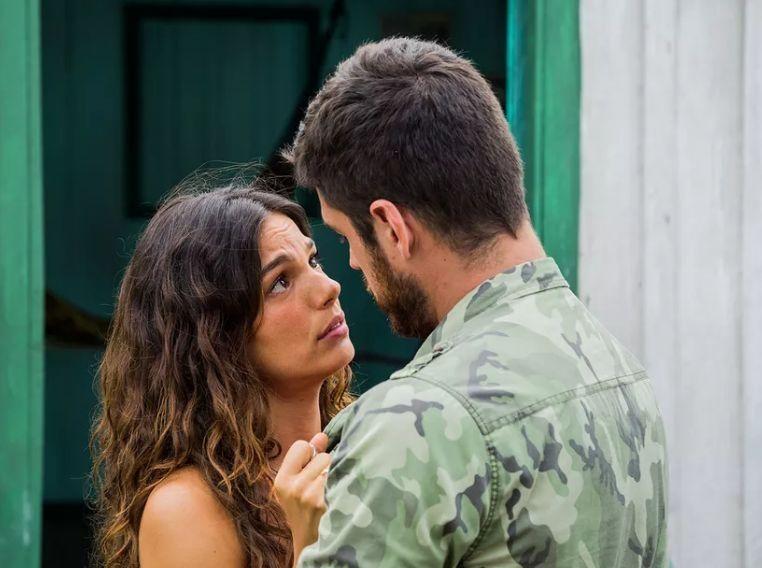 Isis Valverde e Marco Pigossi, os protagonistas de A Força do Querer. Foto: Globo