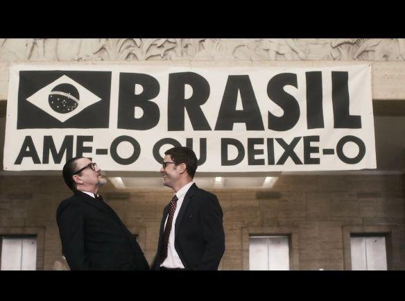 Antonio Caloni e Daniel de Oliveira. Foto: Reprodução/Globo