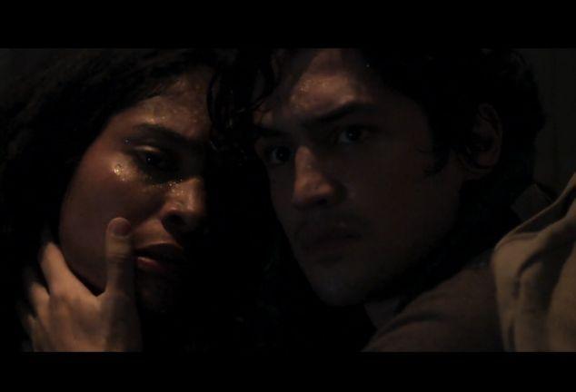 Bárbara Reis e Gabriel Leone. Foto: Reprodução/Globo