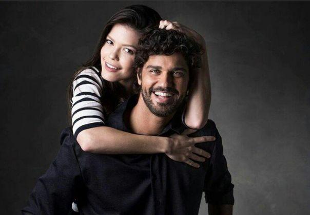 Bruno Cabrerizo e Vitória Strada. Foto: Reprodução/Instagram