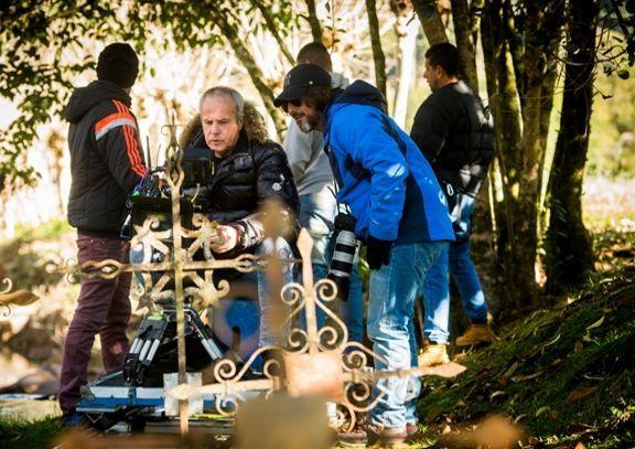 Jayme Monjardim e Adriano Melo. Foto: Divulgação/Globo