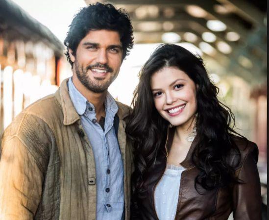 Bruno e Victoria Strada. Foto: Divulgação/Globo