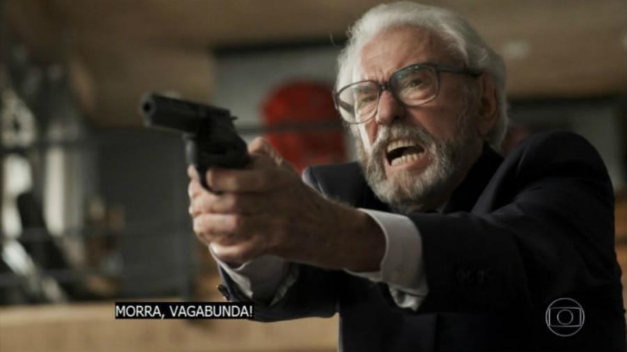 Cena épica, histórica... SQN!. Foto: Reprodução/TV Globo