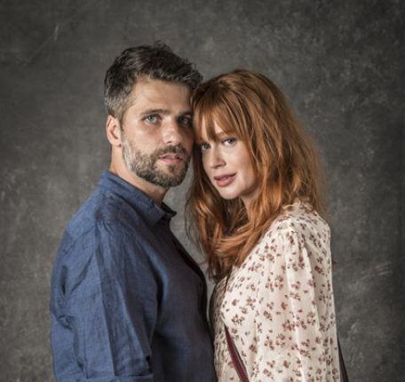 Luz (Marina Ruy Barbosa) e Gabriel (Bruno Gagliasso). Foto: Globo/João Cotta