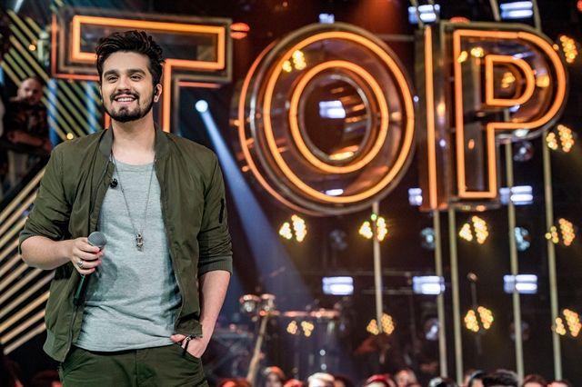 O apresentador Luan Santana. Foto: Globo/Fábio Rocha