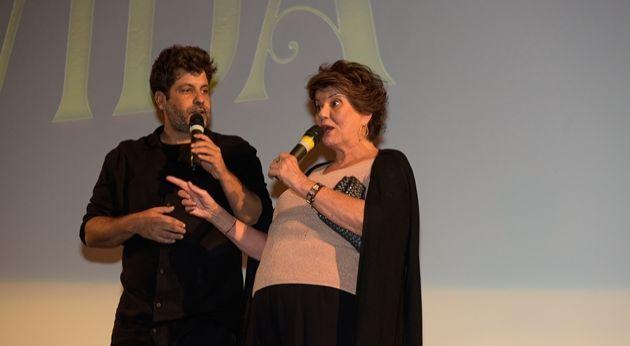 Pedro Vasconcelos e Elizabeth Jhin Pedro. Foto: Globo/Cesar Alves