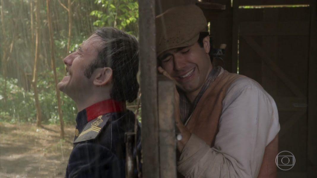 Linda cena de Orgulho e Paixão. Foto: Reprodução/TV Globo