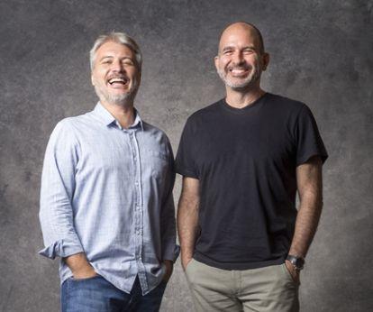 Fred e Marcos Bernstein. Foto: Divulgação/TV Globo