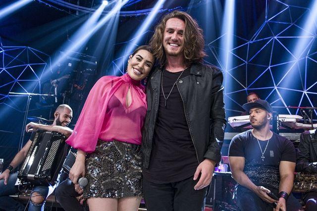 Naiara Azevedo e Vitor Kley. Foto: Globo/Fábio Rocha