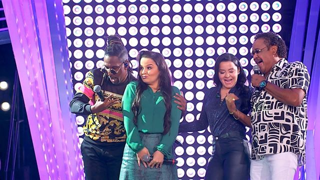 É o Tchan e Maiara & Maraisa. Foto: Globo/Divulgação