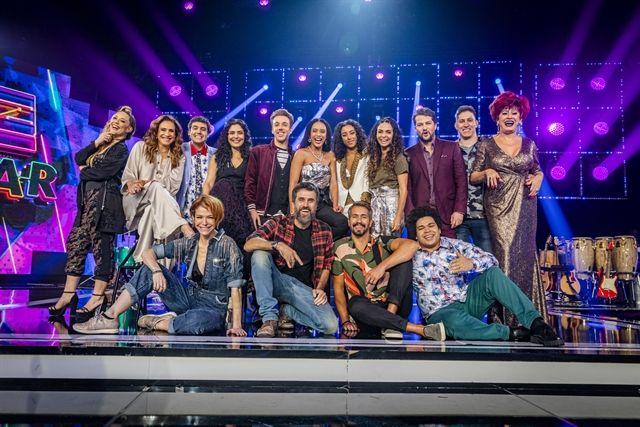 O elenco. Foto: Globo/Paulo Belote