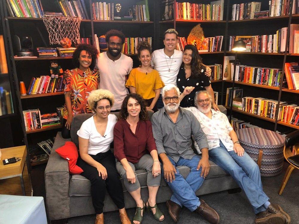 Os autores de Bom Sucesso. Foto: TV Globo/Papo de Novela/Gshow