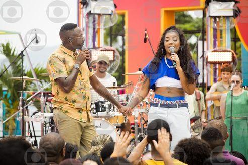 Mumuzinho e Ludmilla. Foto: Globo/João Miguel Júnior