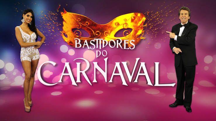 Flávia e Nelson no Carnaval de 2018. Foto: RedeTV!