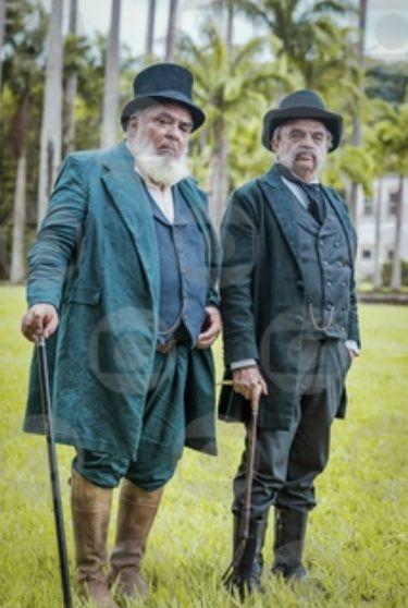 Ambrósio (Roberto Bomfim) e Eudoro (José Dumont)