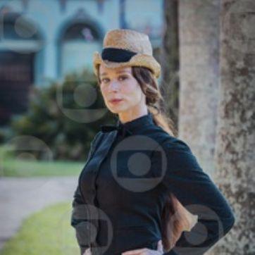 Condessa de Barral (Mariana Ximenes). Foto: Paulo Belote/Globo