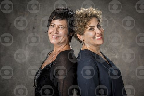 Thelma Guedes e Duca Rachid. Foto: Globo/Victor Pollak