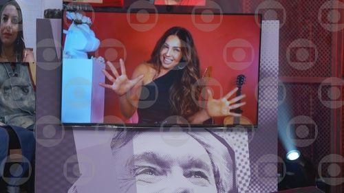 Thalia. Foto: Globo/Divulgação