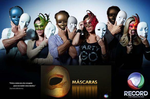 A estreia de Máscaras