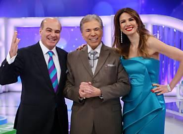 Silvio Santos receberá Luciana Gimenez e Marcelo de Carvalho no SBT