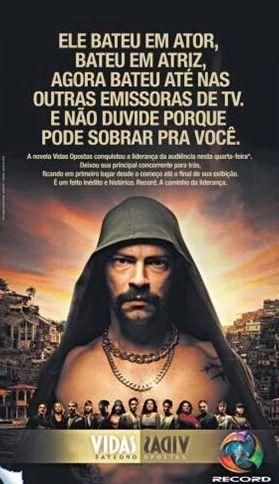 """Audiência: """"Vidas Opostas"""" chega a liderança no Rio de Janeiro"""