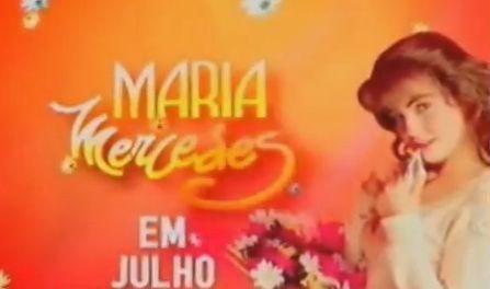 "SBT anuncia a reprise da novela ""Maria Mercedes"""