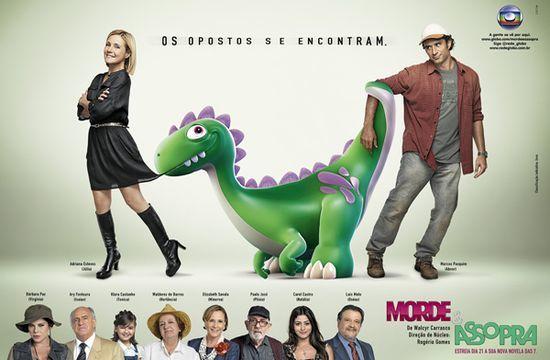 """""""Morde & Assopra"""": os opostos se encontram na próxima novela das 7"""