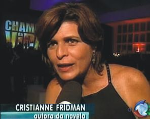 Cristianne Fridman vai colocar fogo no horário nobre